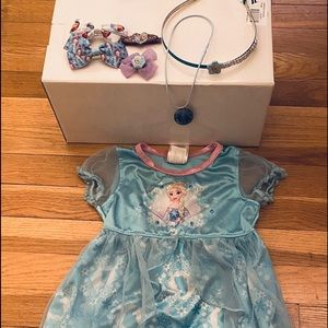 Frozen nightgown and accessories toddler